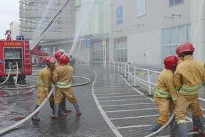 AEON Delight Việt Nam diễn tập phòng cháy chữa cháy tại Bình Dương