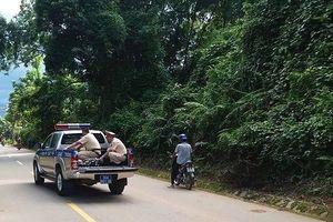 Thanh Hóa: CSGT dùng xe chuyên dùng đưa người bị tai nạn đi cấp cứu