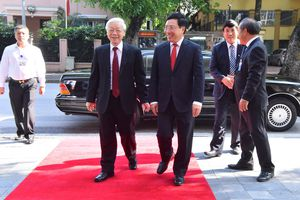 Lãnh đạo Đảng, Nhà nước tới dự Lễ Khai mạc Hội nghị Ngoại giao lần thứ 30