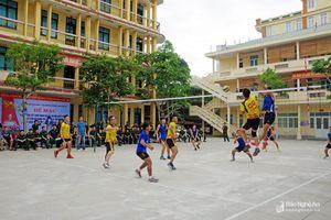Bế mạc giải thể thao khối nội chính LLVT Nghệ An