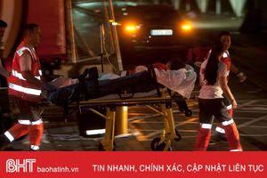 Sập sàn gỗ tại lễ hội âm nhạc ở Tây Ban Nha, 266 người bị thương
