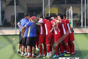 ASIAD 2018: U23 Việt Nam luyện tập trước trận gặp Pakistan