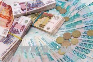 Đồng ruble Nga sụt giá mạnh nhất kể từ tháng 4/2016