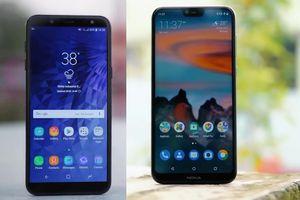 Chỉ 5,3 triệu đồng mua Nokia X6 2018 hay Samsung Galaxy J6?