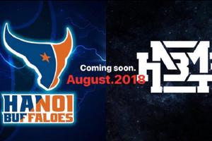 Hanoi Buffaloes kết hợp cùng thương hiệu nổi tiếng HNBMG