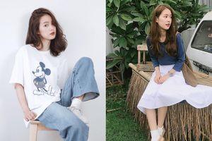 Nếu không có gì để mặc cho mùa back to school hãy học ngay style thiên biến vạn hóa của hot girl số 1 Thái Lan