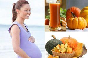 Bí đỏ: 'Siêu thực phẩm' cho mẹ bầu một thai kỳ khỏe mạnh