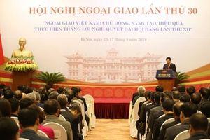 Ngoại giao Việt Nam: chủ động, sáng tạo, hiệu quả