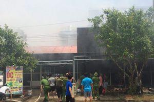 'Bà hỏa' ghé thăm chợ huyện Nga Sơn, 5 ki - ốt bị thiêu rụi