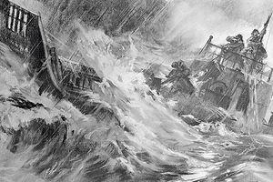 Bốn quân nhân Liên Xô trôi dạt trên biển 49 ngày giữa vòng vây cá mập