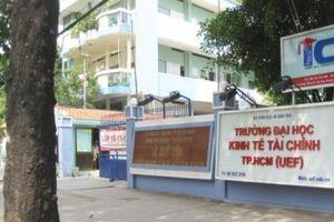 Đại học Kinh tế - Tài chính TP.HCM công bố điểm trúng tuyển học bạ đợt cuối