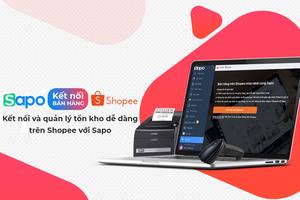 Sapo kết nối và quản lý tồn kho tập trung từ Shopee