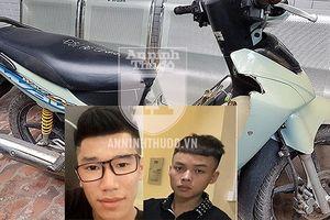 CSHS Hà Nội phá chuyên án, bắt gọn 2 tên cướp đêm chuyên dùng dao, kiếm đe dọa nạn nhân