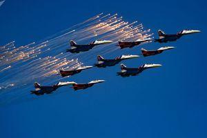 Những hình ảnh ấn tượng về Lực lượng không quân Nga