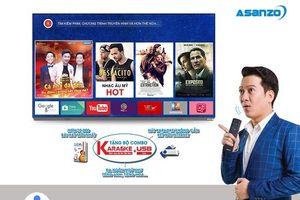 Smart TV Asanzo thân thiện hơn với tính năng Voice Search