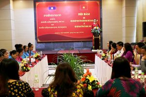 Phụ nữ Quảng Nam và SeKong Lào hợp tác vững mạnh trong các phong trào