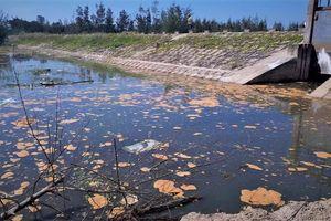 Bị phạt hơn 400 triệu đồng vì xả nước thải bẩn