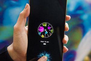 Màn hình nhúng cảm biến vân tay sớm thành tiêu chuẩn trên smartphone tầm trung