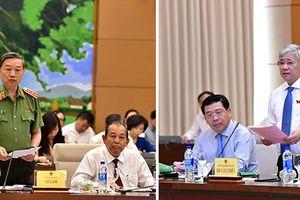 Hai Bộ trưởng trả lời chất vấn nhiều vấn đề nóng