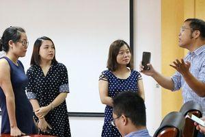 Sản xuất video cho báo mạng bằng thiết bị di động