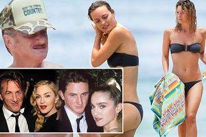 Chồng cũ Madonna U60 đi nghỉ mát cùng bạn gái kém 31 tuổi