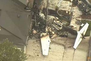 Người đàn ông lái máy bay đâm trúng nhà vì cãi nhau với vợ