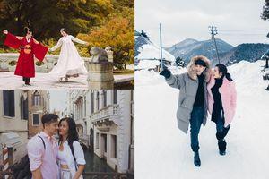 Chưa cưới nhưng chuyến du lịch nào của Đông Nhi và Ông Cao Thắng cũng lãng mạn như đi... trăng mật