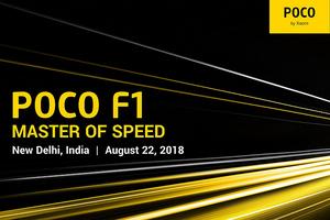 Pocophone F1 sẽ được giới thiệu chính thức vào 22 tháng 8