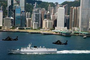 Trung Quốc tập trận răn đe phong trào đòi độc lập ở Hồng Kông