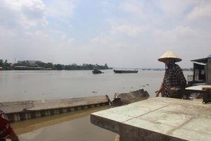 Điều tra vụ bờ kè tiền tỷ vừa đưa vào sử dụng đã sập xuống sông Đồng Nai