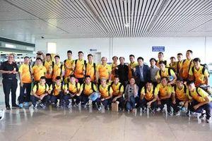 Chùm ảnh: Olympic Việt Nam chính thức lên đường sang Indonesia dự ASIAD 2018