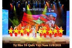 Những hình ảnh đẹp tại chương trình nghệ thuật 'Tự hào Tổ quốc Việt Nam'
