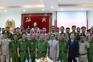 Bồi dưỡng nghiệp vụ điều tra hình sự cho cán bộ Bộ Nội vụ Vương quốc Campuchia