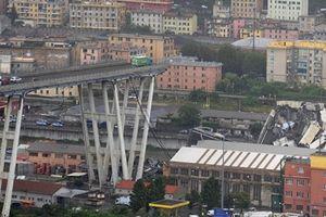 Thảm kịch sập cầu cao tốc Italia, hàng chục người nghi thiệt mạng
