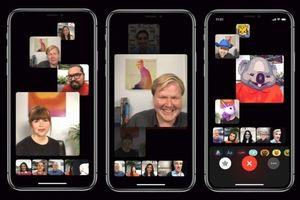 Apple hoãn khởi động tính năng cuộc gọi video nhóm trên iOS 12