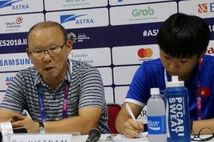 HLV Park Hang Seo chưa hài lòng với chiến thắng trước Pakistan