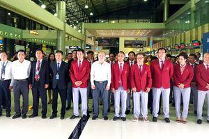 Đoàn thể thao Việt Nam sang Indonesia dự ASIAD 18