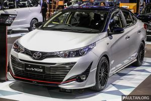 Mãn nhãn với Toyota Vios TRD phiên bản thử nghiệm