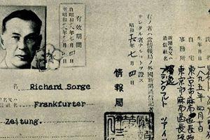 Richard Sorge - Nhà tình báo vĩ đại nhất trong Đại chiến thế giới lần thứ hai