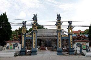 Hà Nội: Yêu cầu kiểm điểm việc 'bê tông hóa' đình Lương Xá