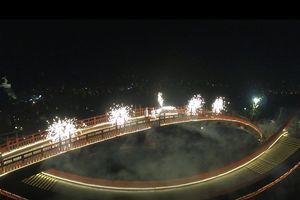 Video - Trích đoạn 'Cả một đời ân oán' quay trên cầu Koi - Hạ Long