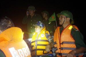 Quảng Ninh: Lực lượng Biên phòng cứu nạn 3 ngư dân trên vùng biển Vân Đồn