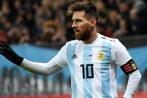 Messi tạm thời chia tay đội tuyển Argentina