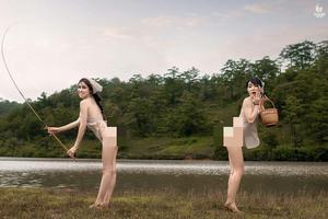 Vụ Á hậu Thư Dung mặc phản cảm ở Đà Lạt: Đề nghị Công an vào cuộc