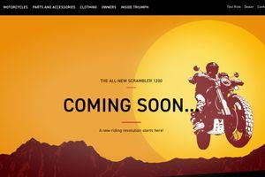 Thách đấu với Ducati Scrambler 1100, Triumph sẽ ra mắt Scrambler 1200