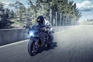 Kawasaki Ninja H2 2019 sắp ra mắt, giành lại 'vương miện' siêu mô tô mạnh nhất thế giới