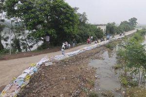 Hà Nội tập trung ứng phó bão số 4, lo sự cố đê sông Bùi Chương Mỹ