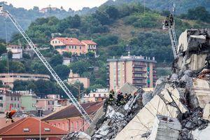 Sập cầu tại Ý: Tìm kiếm người bị nạn vẫn tiếp tục