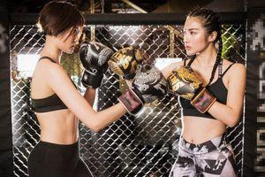 Yaya Trương Nhi hứa sẽ đấm nhẹ tay siêu mẫu Kim Nhung