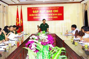 BĐBP Quảng Nam gặp mặt báo chí